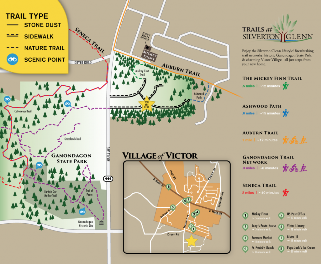 Silverton Trail Map