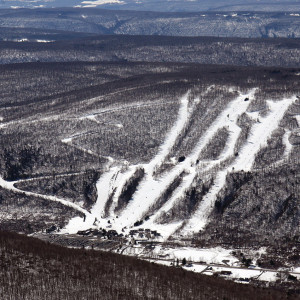 Skiing at Bristol Mountain